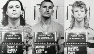 The West Memphis Three mugshots.