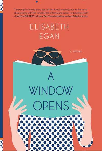 a window oepns